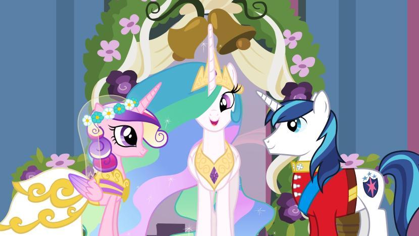 Mlp Base Princess Cadence Wedding