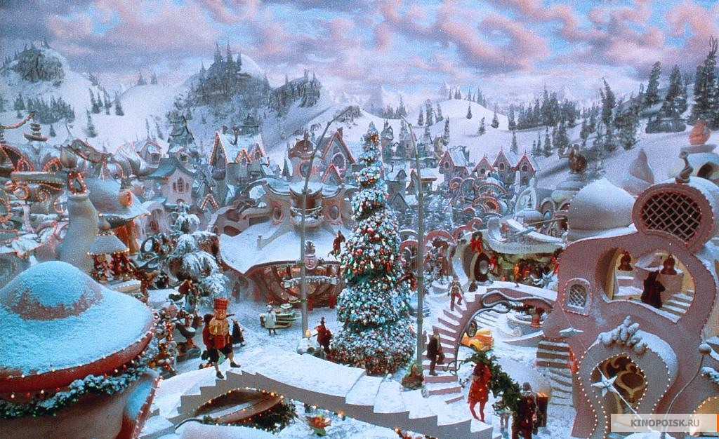 Stole Village Whoville Grinch Dr How Seuss Christmas