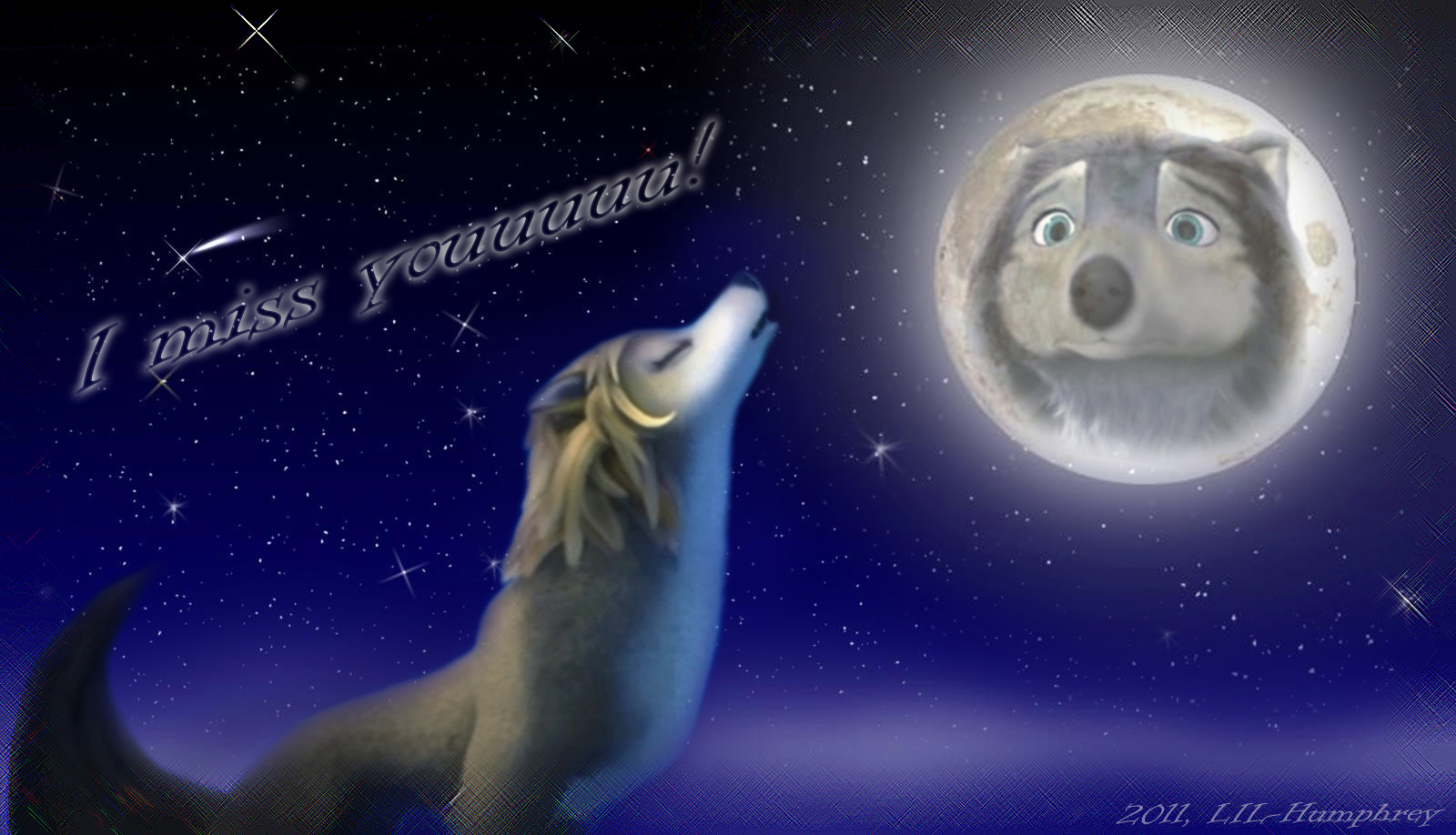 Lilly Omega Howling And Alpha