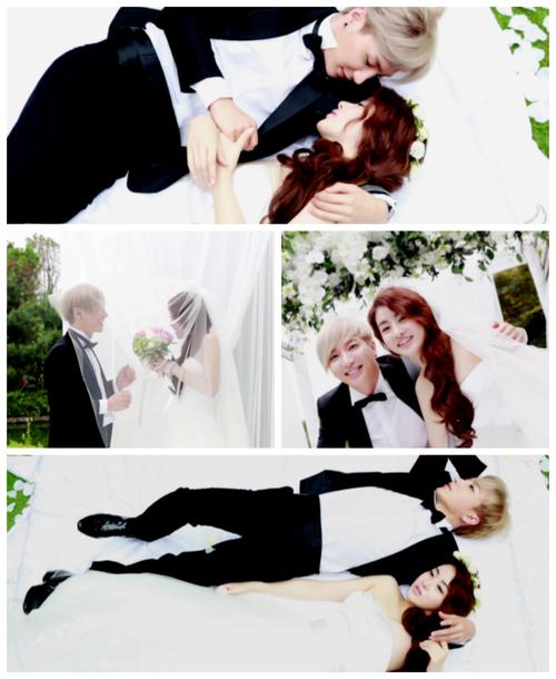 We Got Married Leeteuk Kang Sora