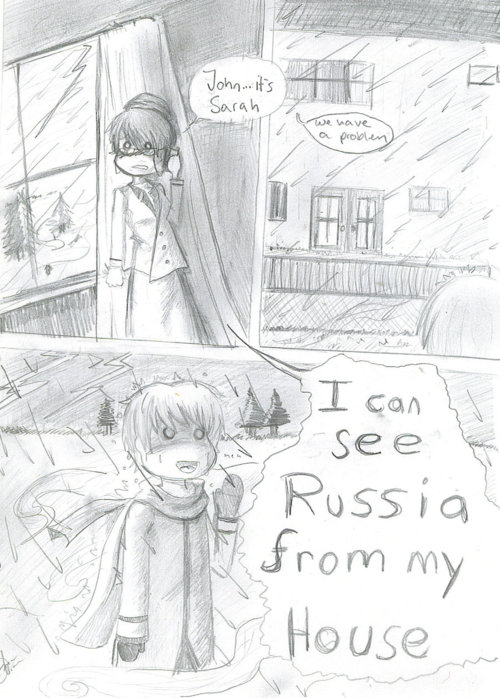 I Can See Russia My House