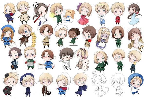 Hetalia Germany X Chubby Reader