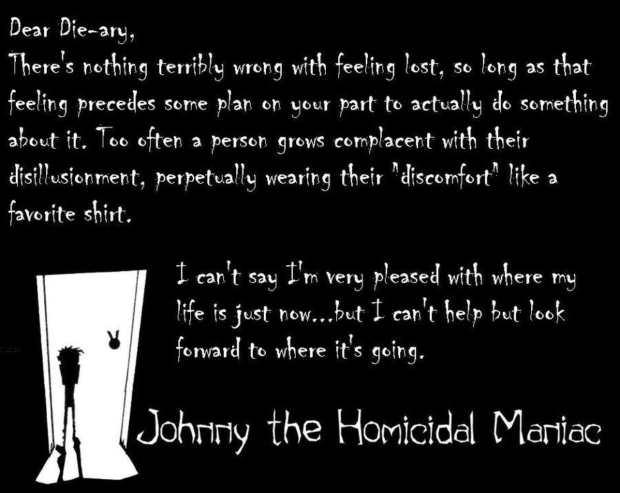 Johnny Homicidal Maniac Zim