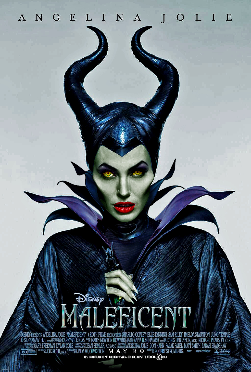 Art And Diaval Fan Maleficent