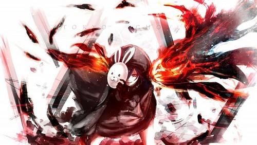Tokyo Rabbit Wallpaper Black Ghoul