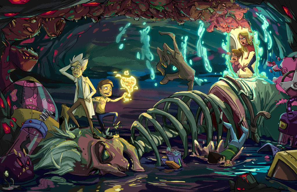 Rick and Morty images sf img 08 HD wallpaper and background photos     Rick and Morty images sf img 08 HD wallpaper and background photos