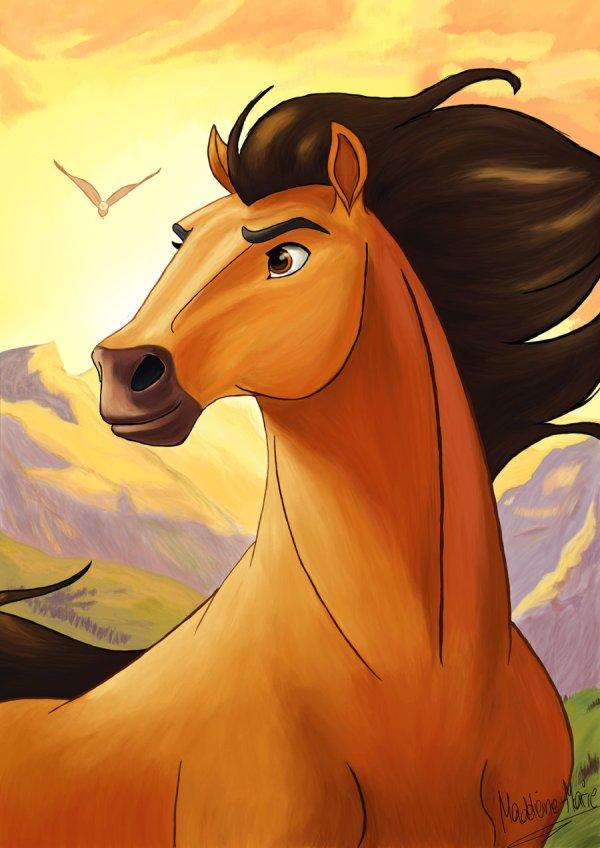 paint spirit stallion of the cimarron # 16