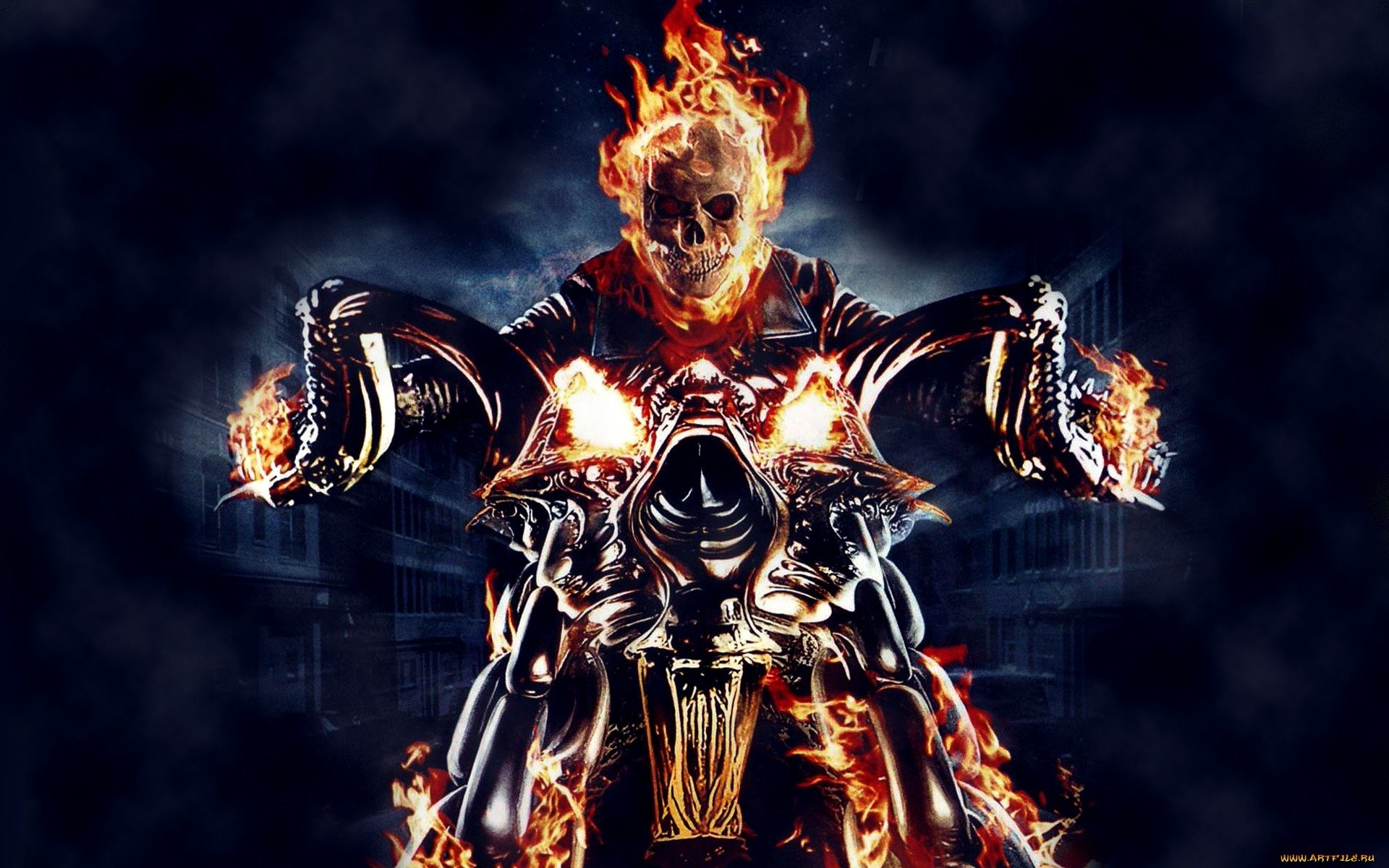 142 Ghost Rider HD Wallpapers   Background Images   Wallpaper Abyss HD Wallpaper   Background Image ID 322139