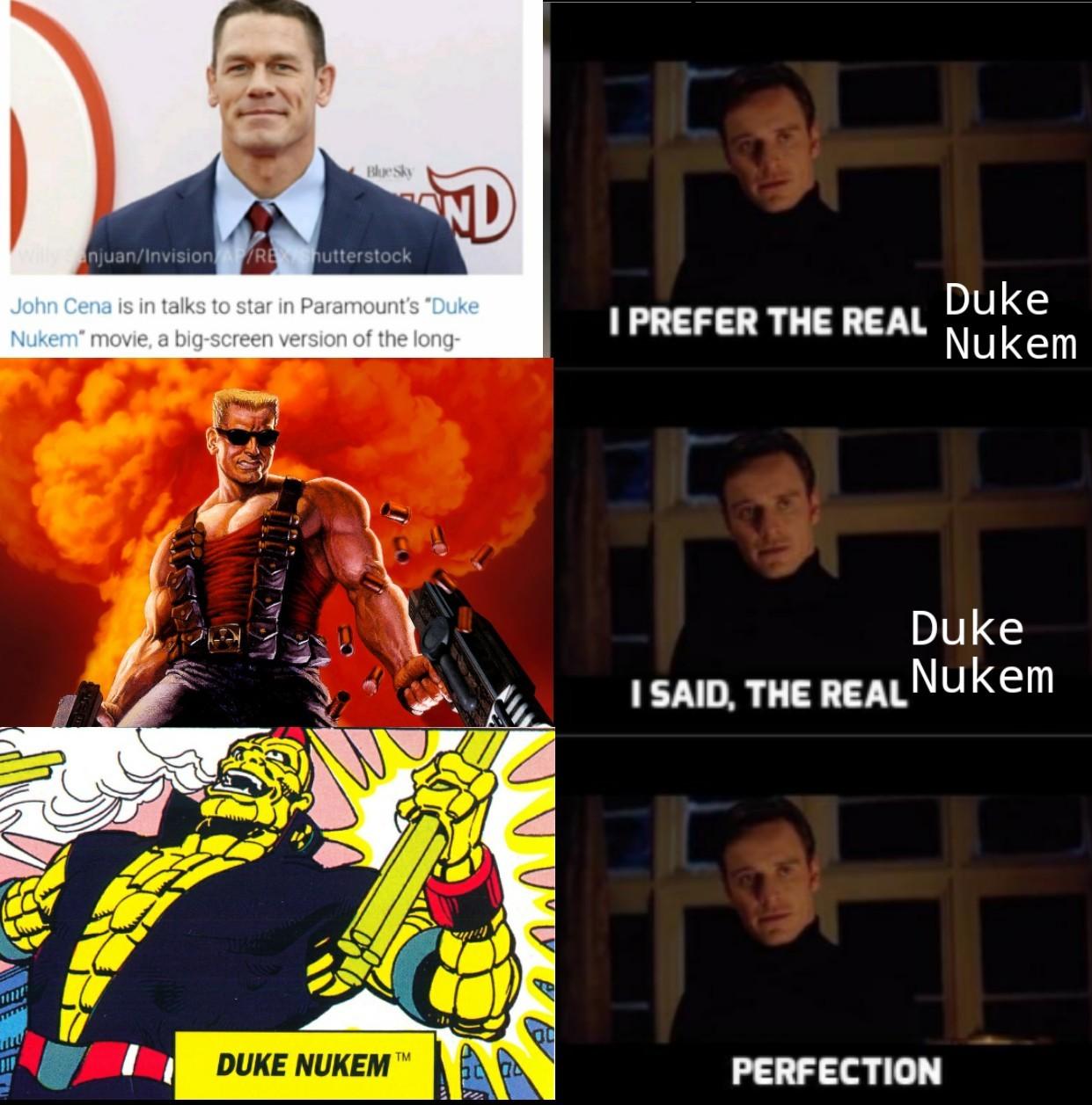 My Name Duke Nukem Memes