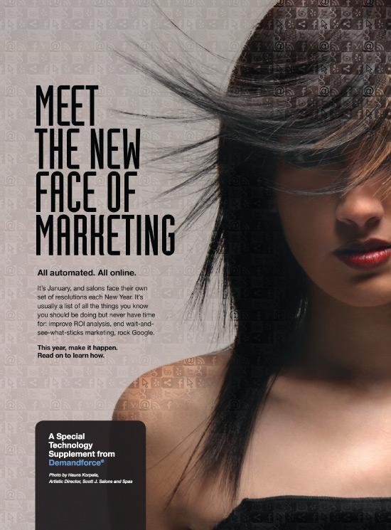 Demandforce 174 Ad Campaign Im Marketing Group An Aveda