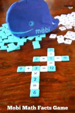 M    bi Math Facts Game Review   Imagination Soup Mobi Math Facts Game  REVIEW