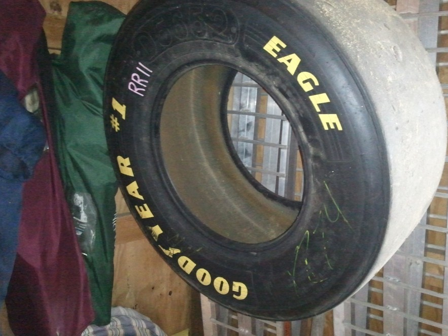 Goodyear Eagle Yellow Letter Tires