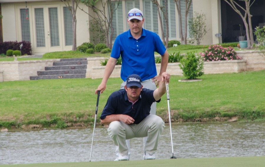 Northern Texas PGA   News Team of Martin O Brien Lead After Round One of the EPEC Pro Pro Championship