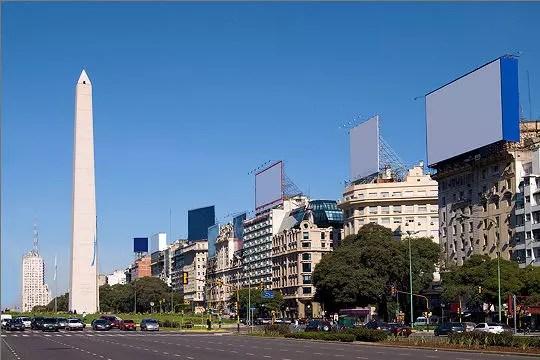 La Buenos Du Julio De La Plus Large Argentine Aires Monde 9 Route