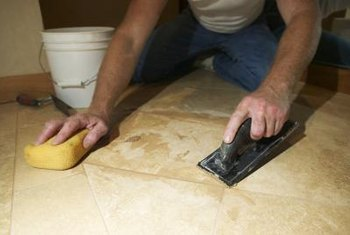 How to Repair Broken Grout on Tile Floors   Home Guides   SF Gate It s much easier to repair broken grout than to replace a broken floor tile