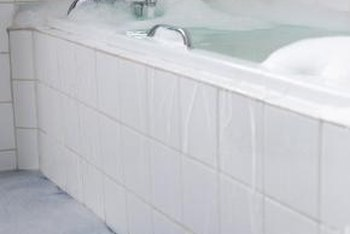 How to Replace a Rotten Floor in Front of a Bathtub   Home Guides     An overflowing tub may spell disaster to your floor
