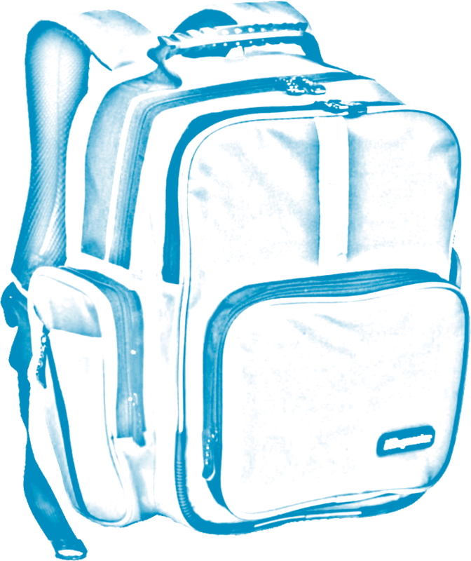 open backpack picture - 672×800