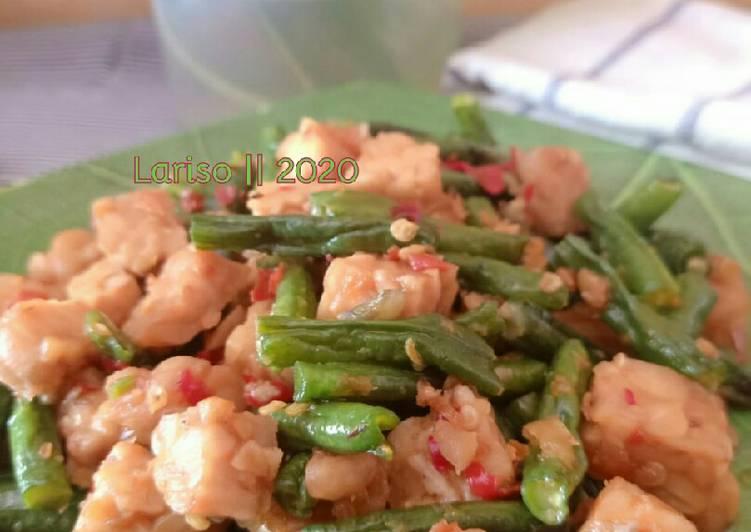 Resep Oseng Kacang panjang sambal bawang