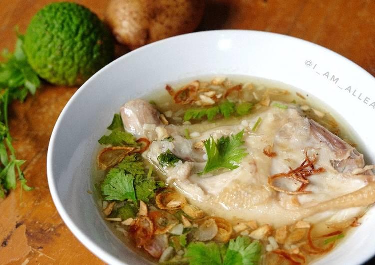Resep Sop Ayam Kampung Sederhana
