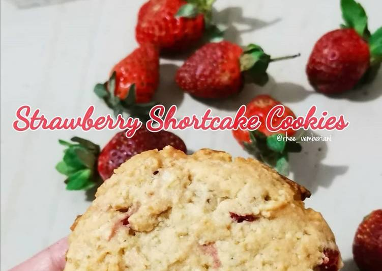 Resep Strawberry Shortcake Cookies