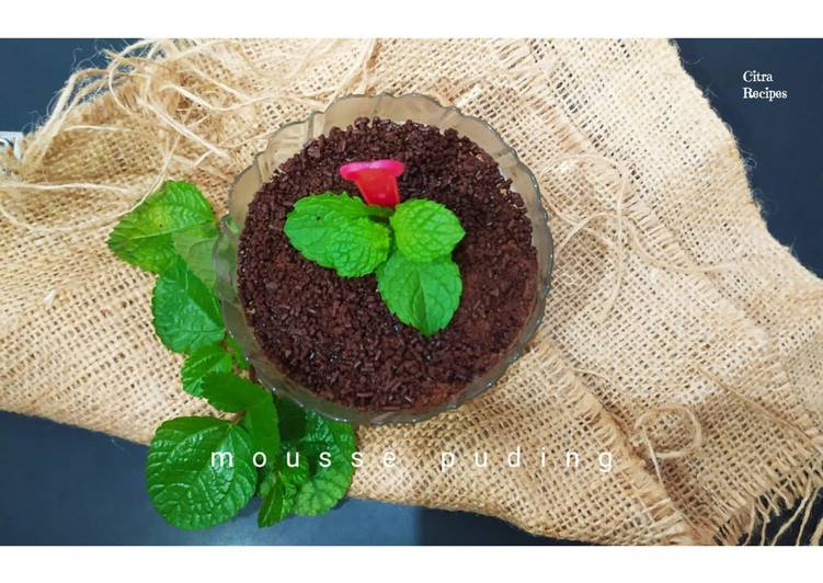 Resep Mousse Puding