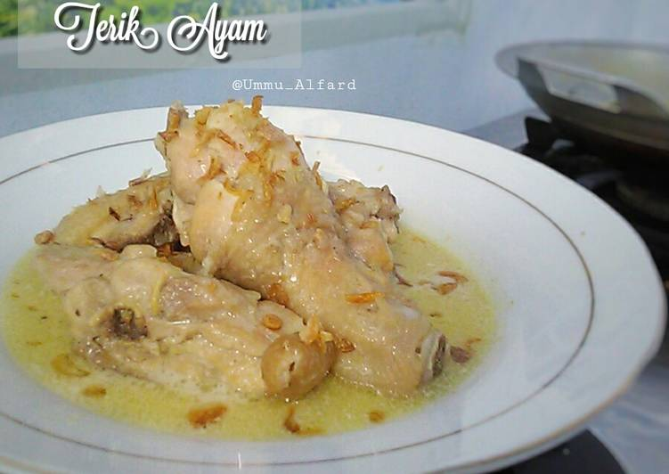 Resep Terik Ayam