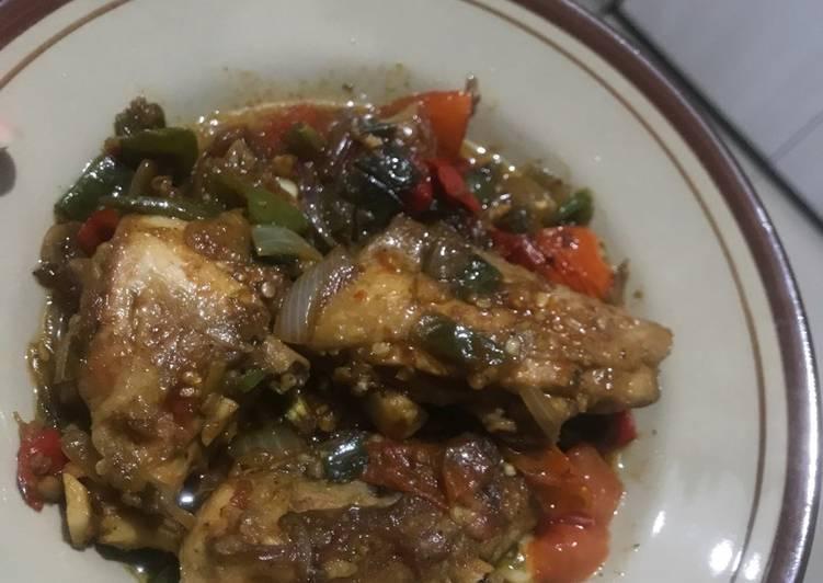 Resep Ayam rica pedas