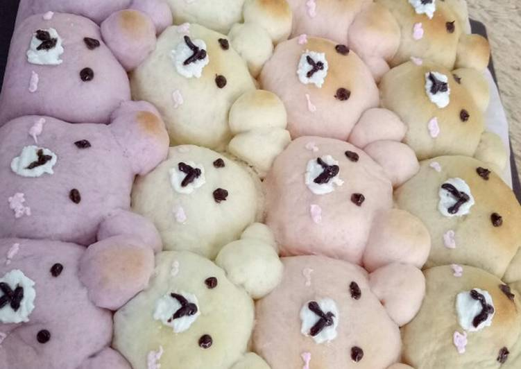 Resep Japanese soft and milk bread cute