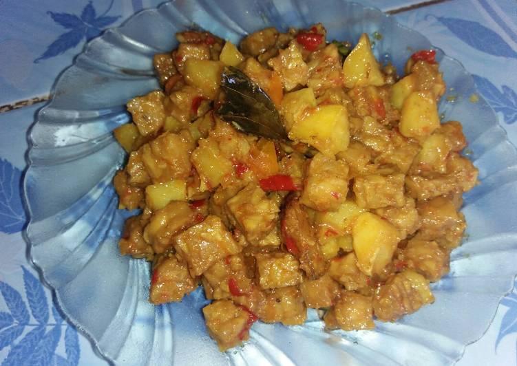 Resep Sambal goreng kentang tempe