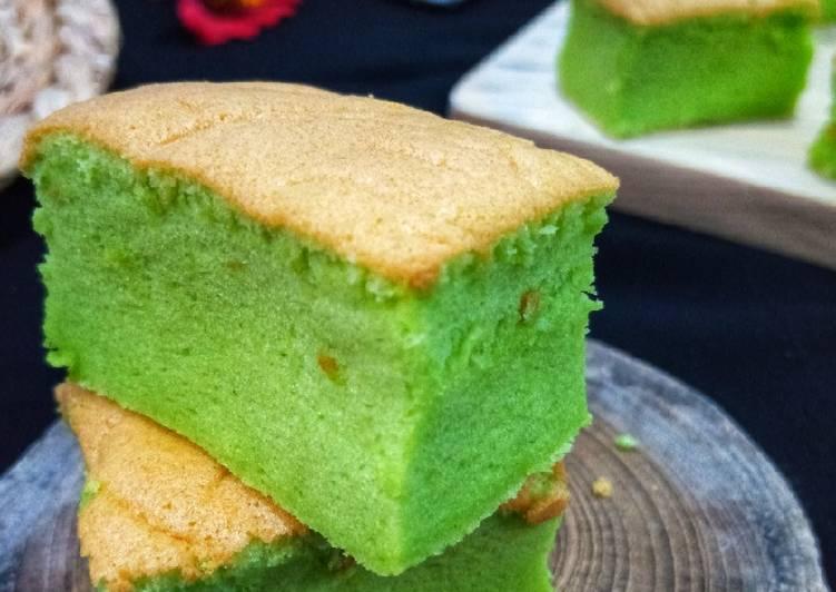 Resep Pandan Ogura Cake