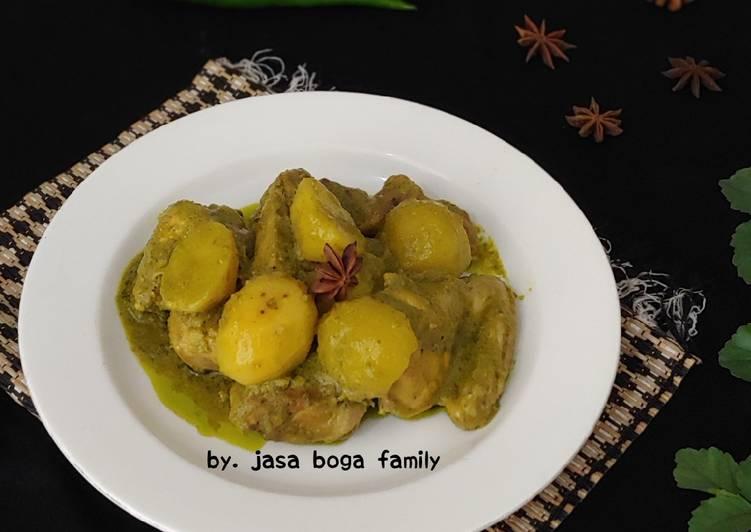 Resep Kalio Ayam Lado Hijau