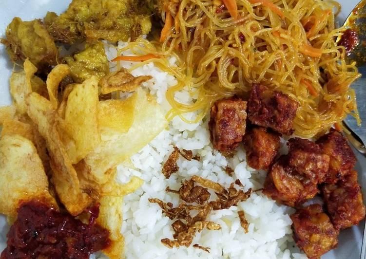 Resep Nasi Uduk / Nasi Lemak Ricecooker (vegan)