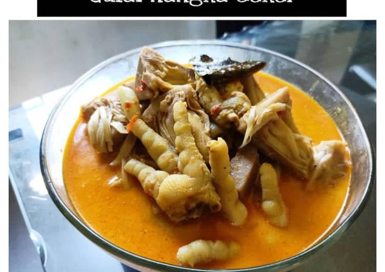 Resep Gulai Nanga Ceker Ayam