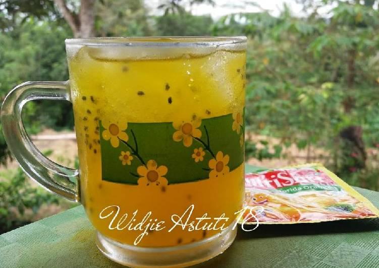 Resep Es Nutrisari & Selasih
