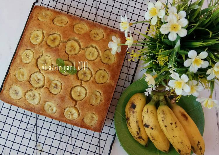 Resep Cake Pisang Gula Merah