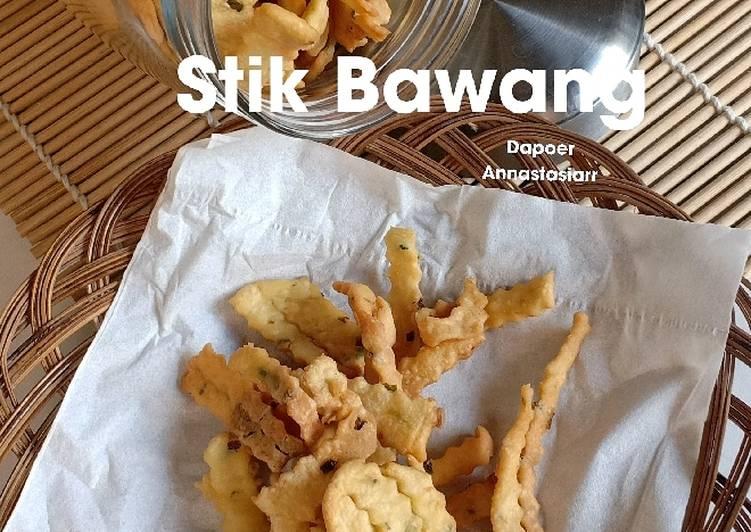 Resep Stik bawang