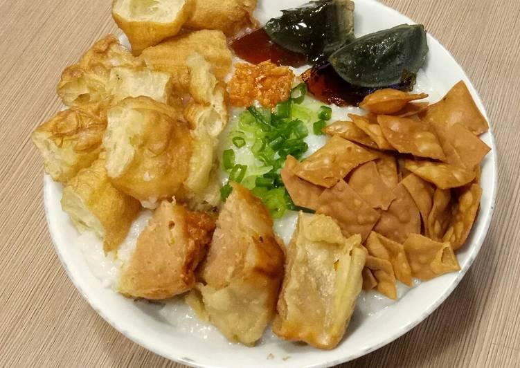 Resep Bubur Ayam ala Chinese Resto (Oriental)