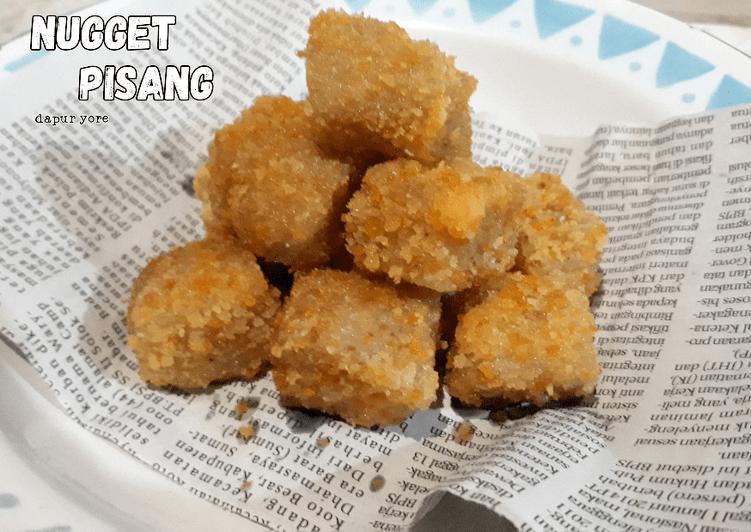 Resep #Nugget Pisang Eggless (Camilan Simple)