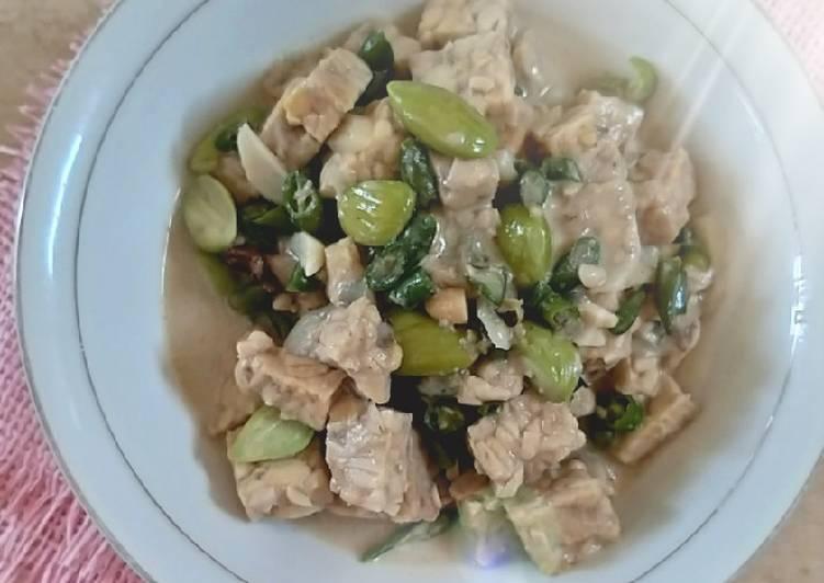 Resep Jangan lombok tempe (sayur cabe ijo)