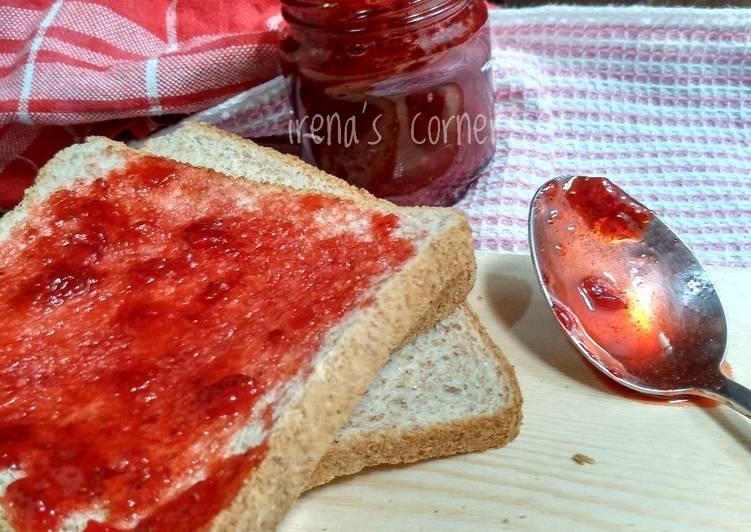 Resep Strawberry jam (selai strawberry)