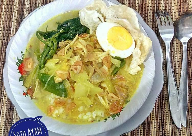 Resep Soto Ayam Lamongan Sederhana No Koya