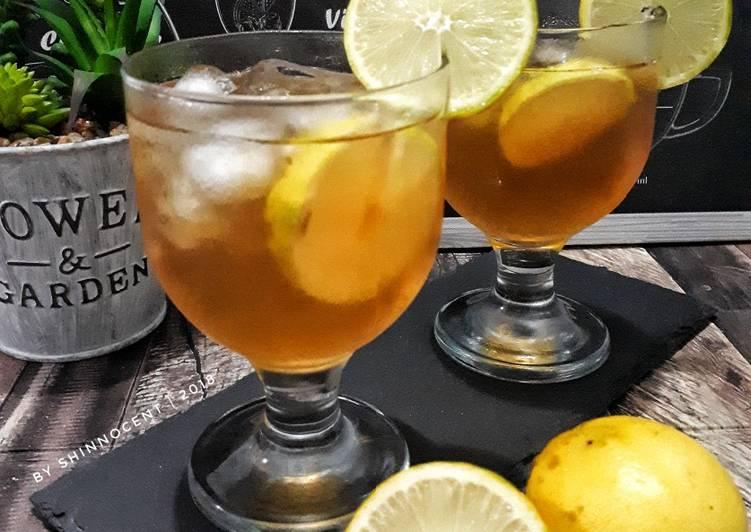 Resep Lemon Tea Squash