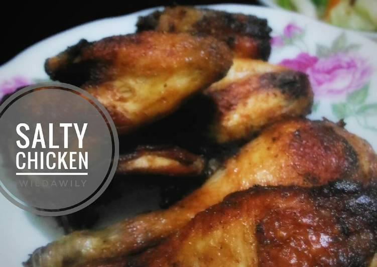 Resep Salty Chicken