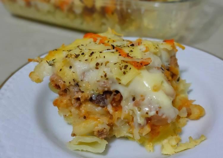 Resep Macaroni Panggang (Baked Macaroni)