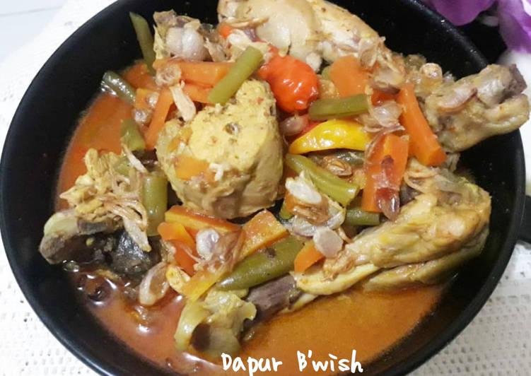 Resep Kari ayam spesial tanpa santan