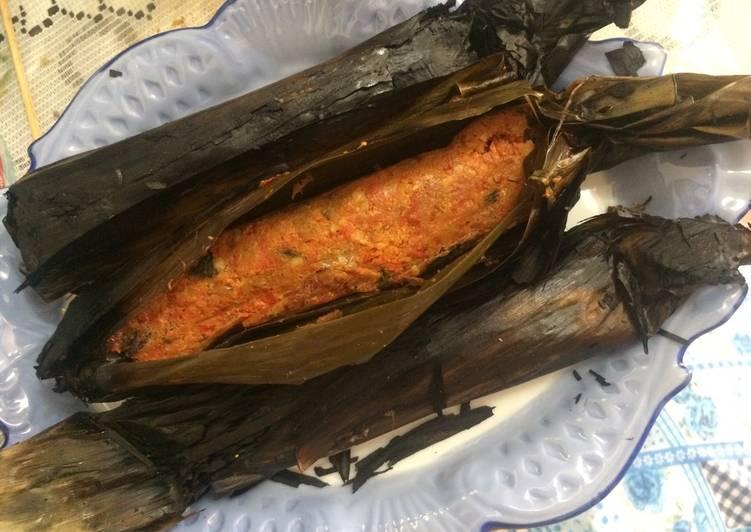 Resep Pepes ikan blanak