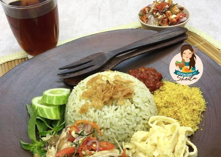 Resep Nasi Hijau Rice Cooker