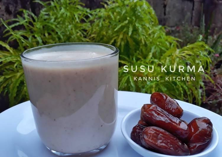 Resep Susu Kurma