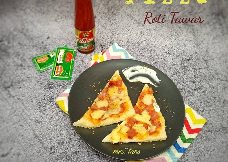 Resep Pizza Roti Tawar ala Rumahan