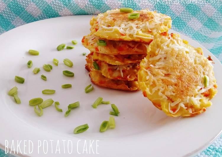 Resep Baked Potato Cake - MPASI
